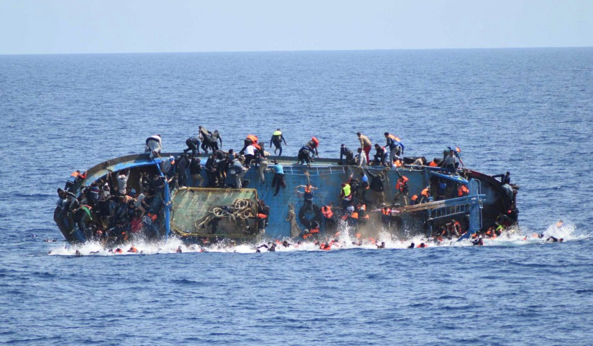 Death toll soars on the Mediterranean