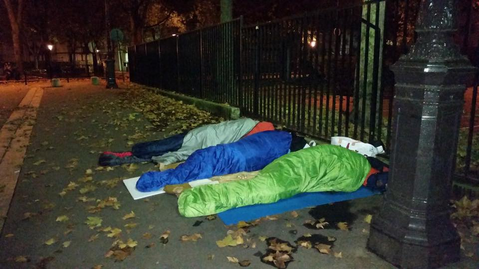 Messages from minors sleeping rough