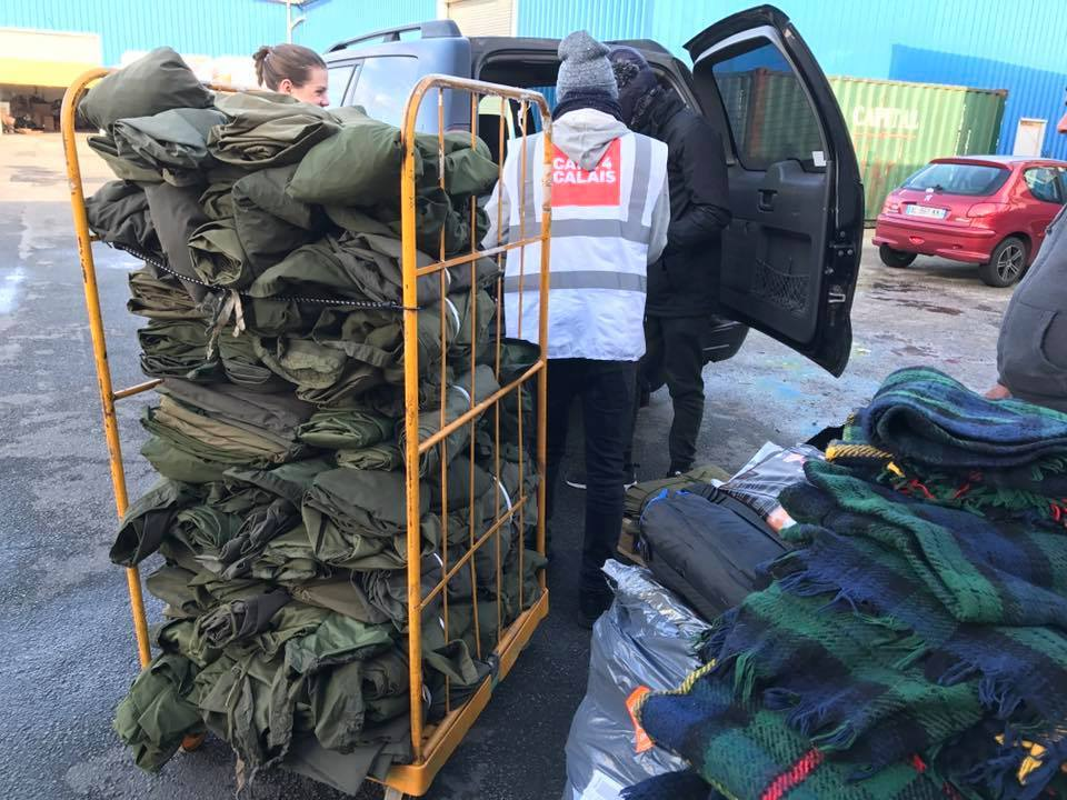Bivvy Bags for Rough Sleeping Refugees