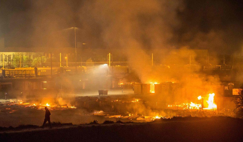 Dunkerque Fire Update