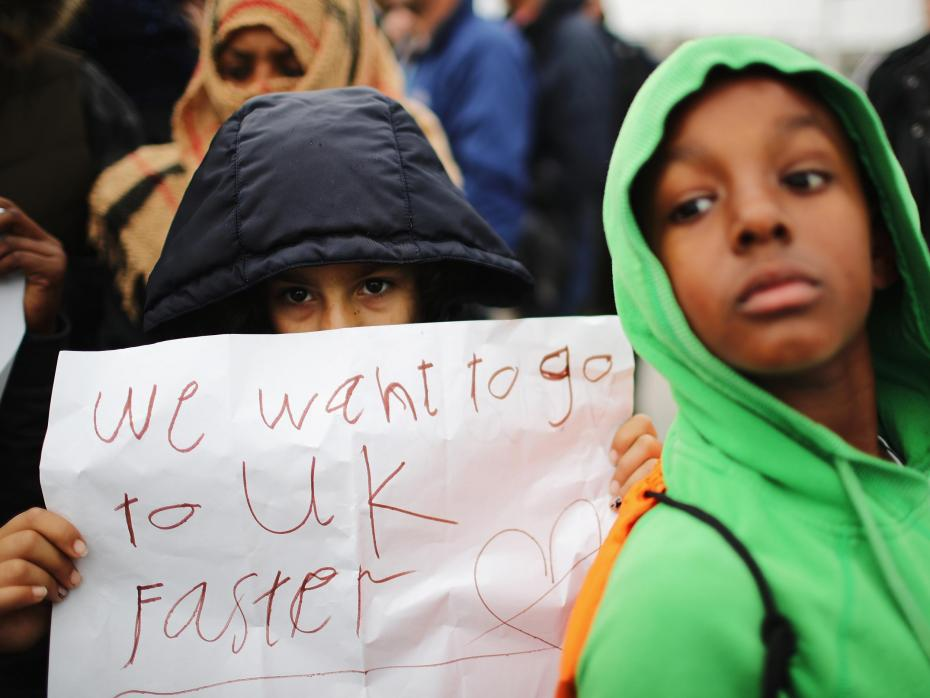 Child refugees missing in UK
