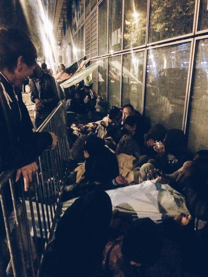 Hundreds of Refugees in Paris Endure Disastrous Conditions