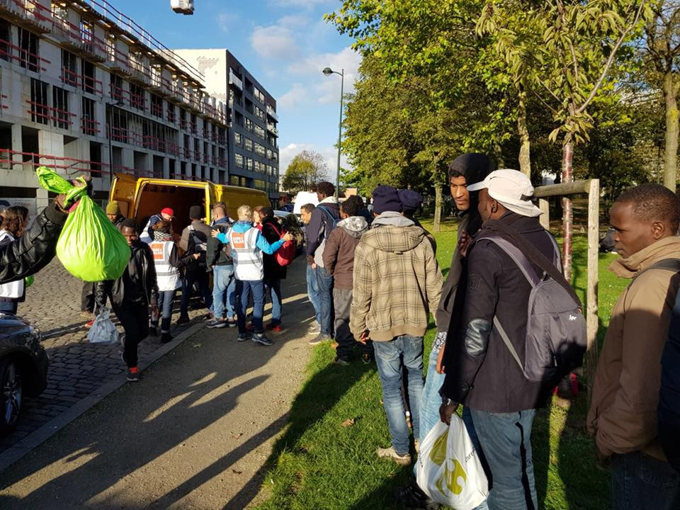Care4Calais in Brussels