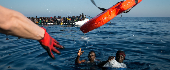 483 drown in the Mediterranean while rescue ships are trapped in port