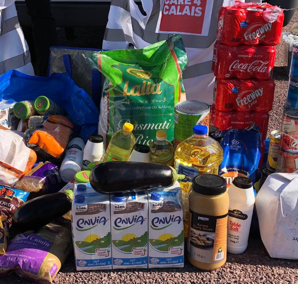 Appeal for food supplies