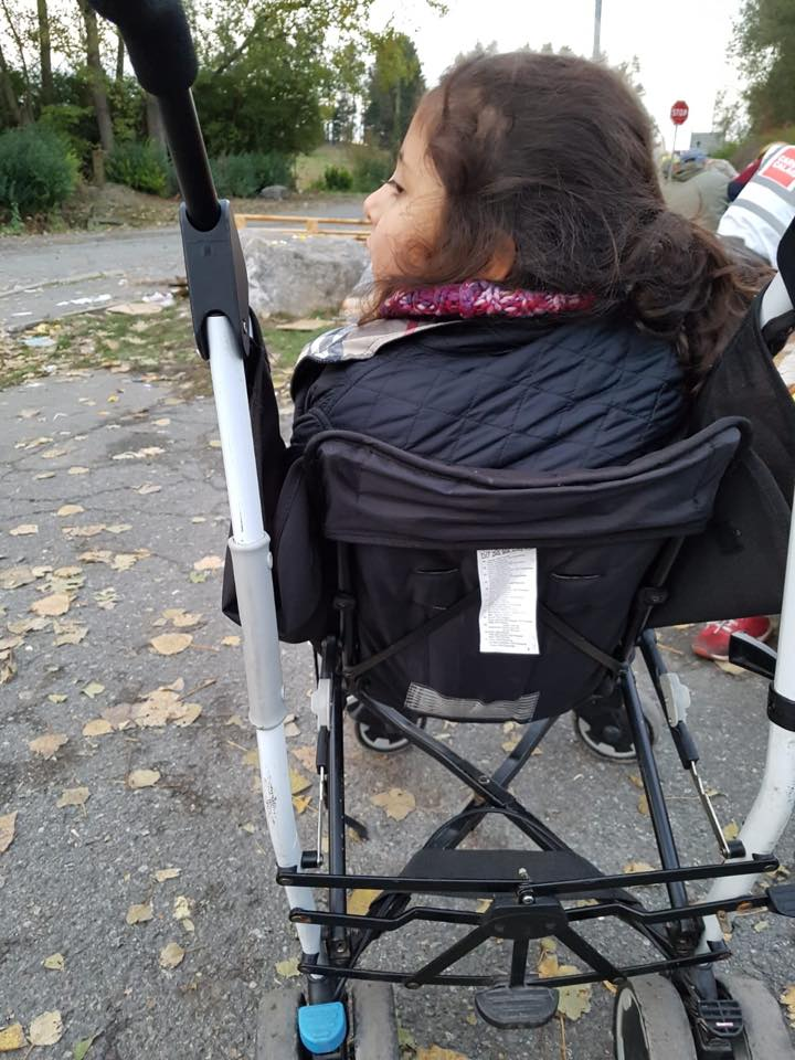 Authorities take young girl's wheelchair