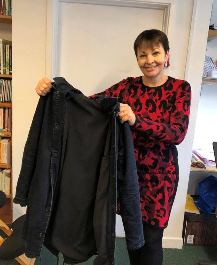 Caroline Lucas MP Supports #Coats4Calais