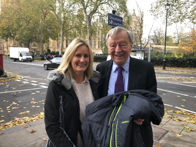 Lord Alf Dubs supports our #Coats4Calais appeal