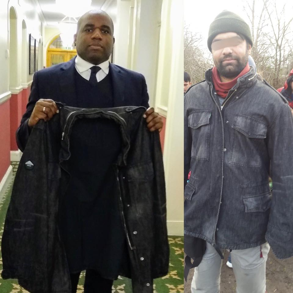 David Lammy MP supports #Coats4Calais