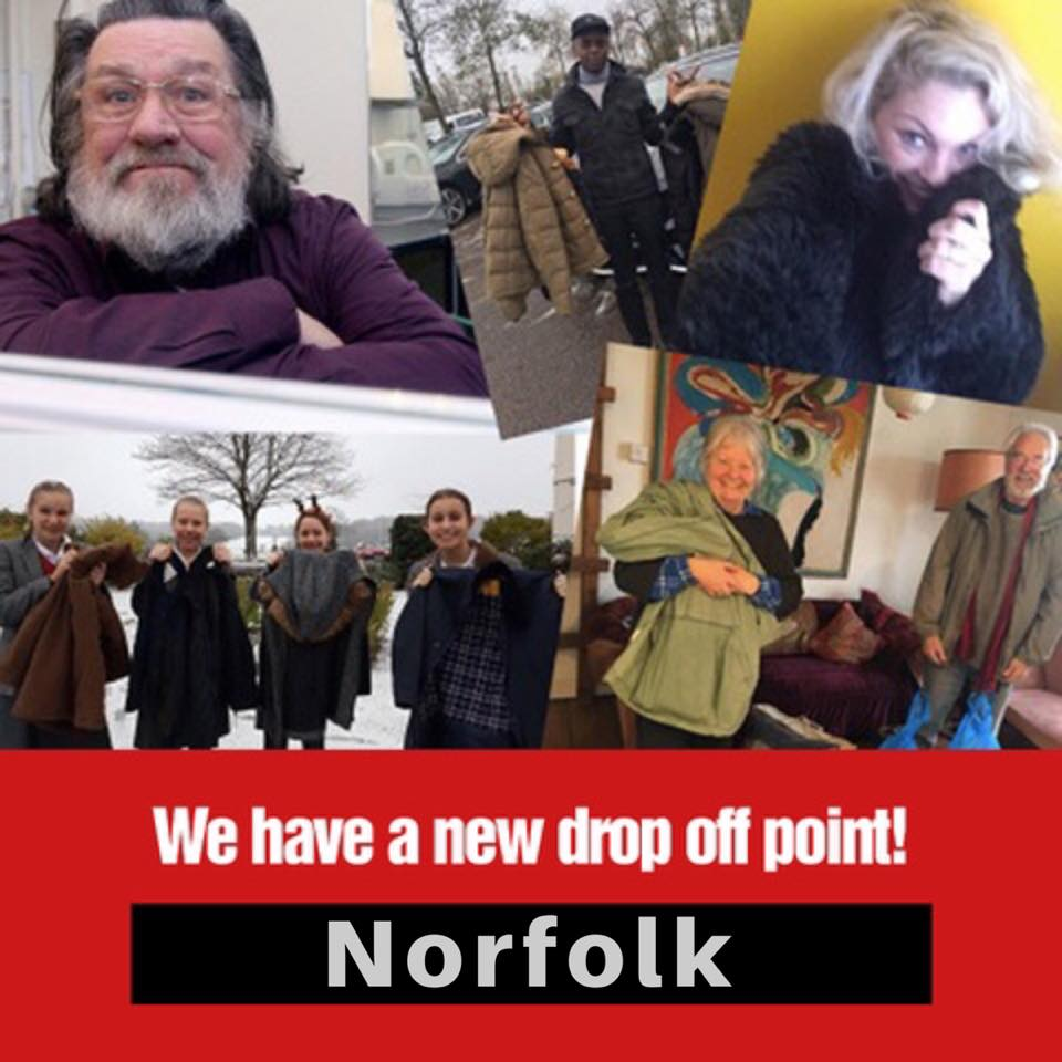 NORFOLK – New Drop Off Point!