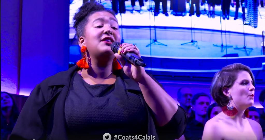 London International Gospel Choir Dedicate Song to #Coats4Calais