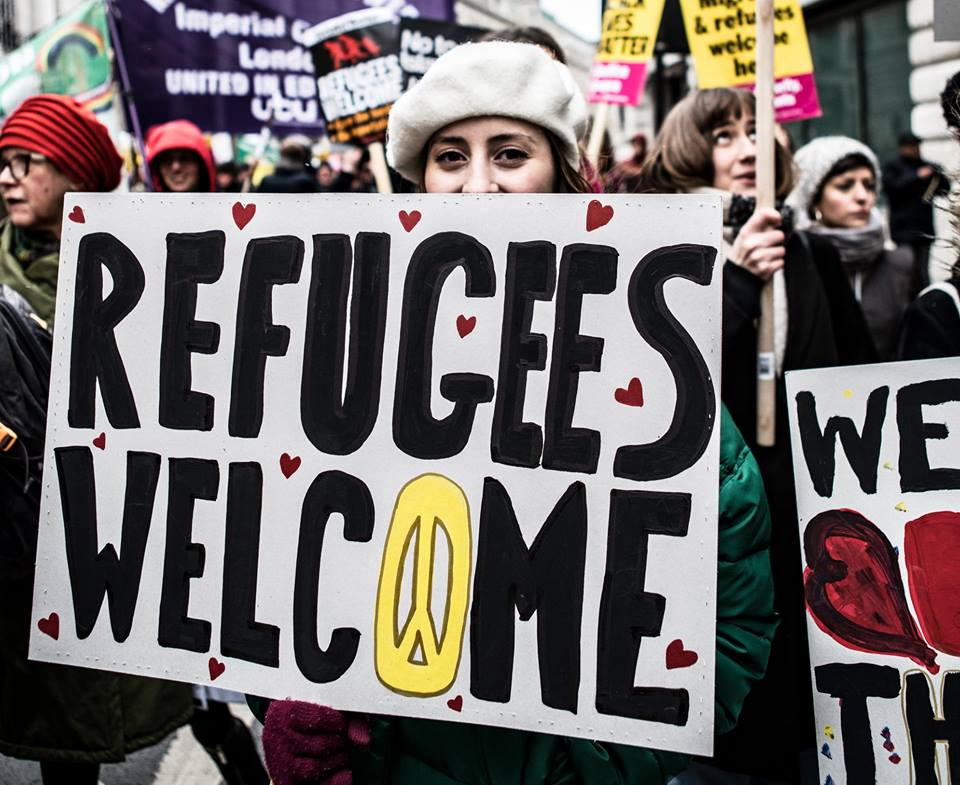 Join us on 16 March at the Refugees Welcome Bloc for UN Anti Racism day