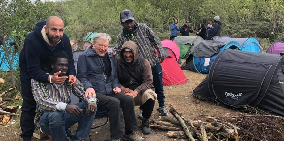Lord Dubs' Visit To Calais