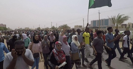 #StandWithSudan