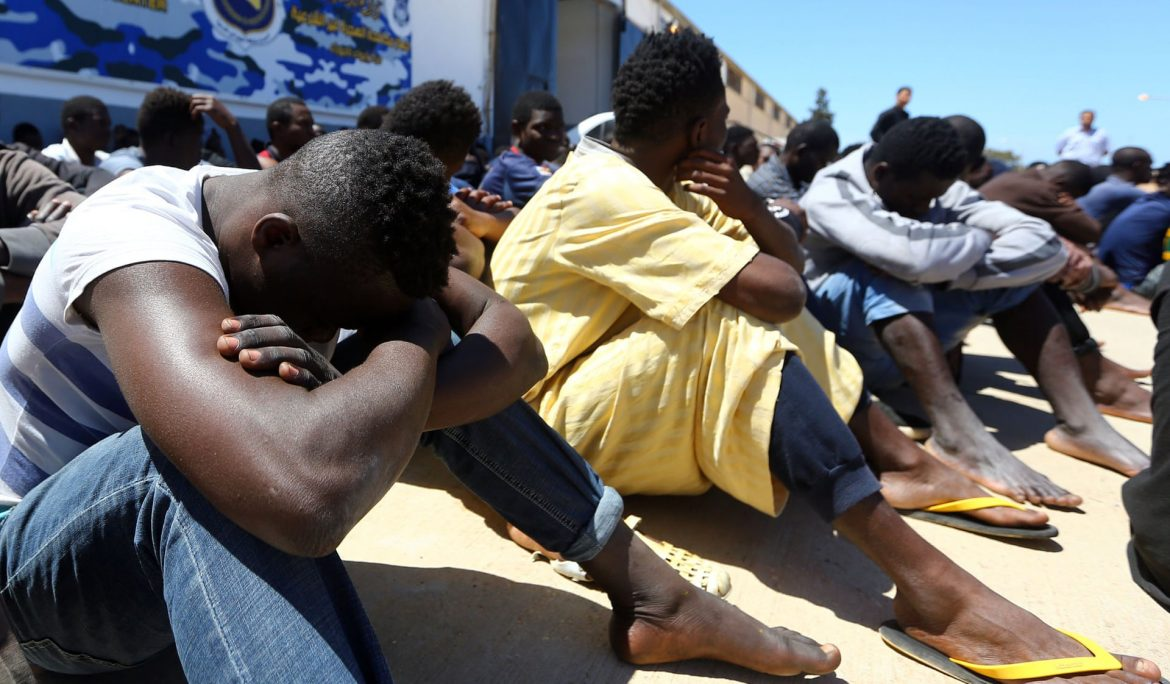 Arrests made after migrants identify 'torturers' in camp in Sicily