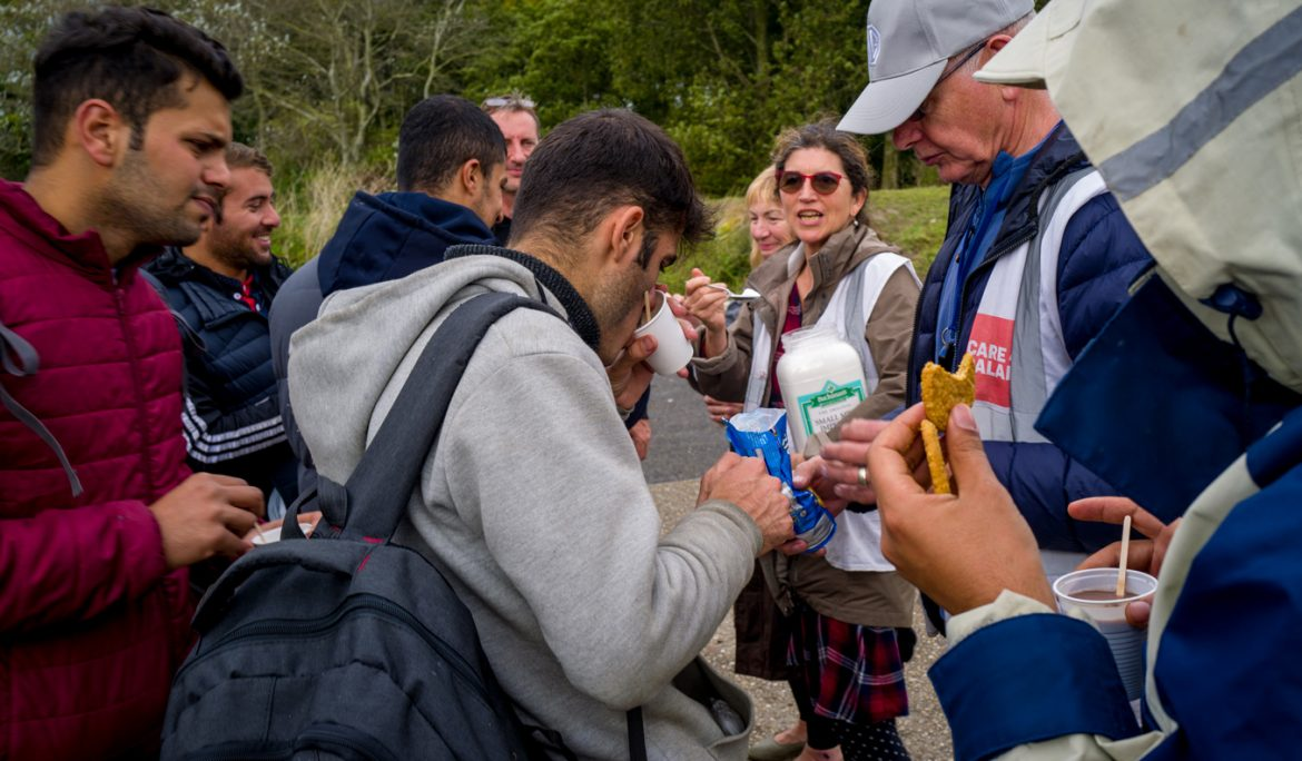 What we saw in Calais, is a humanitarian crisis