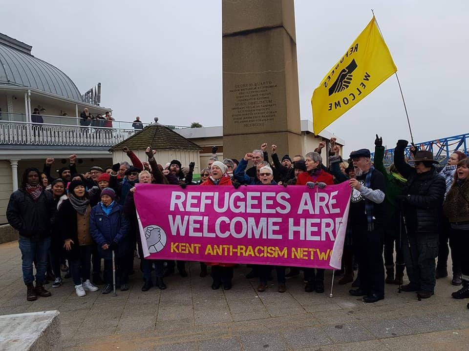 Solidarity with our friends in Kent