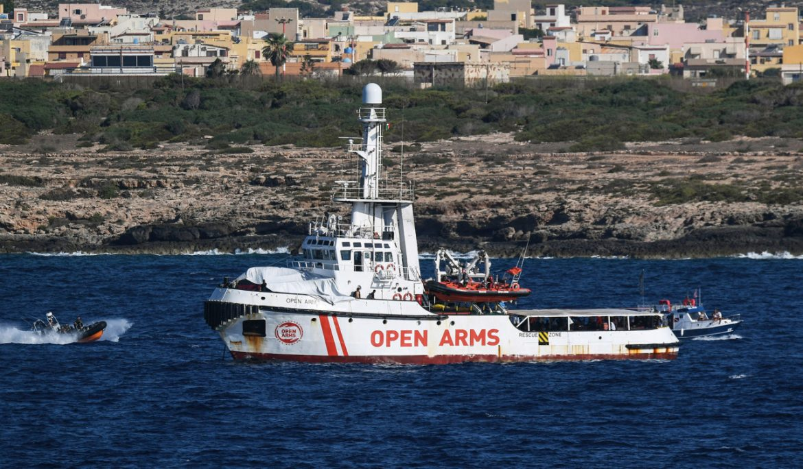 Five dead, dozens missing after migrant boat capsizes in the Mediterranean