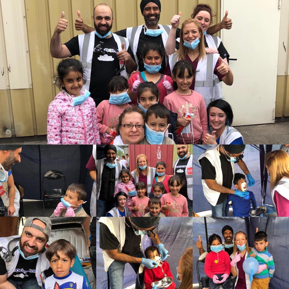 Focus4Hope gives dental care to around 130 refugees in France