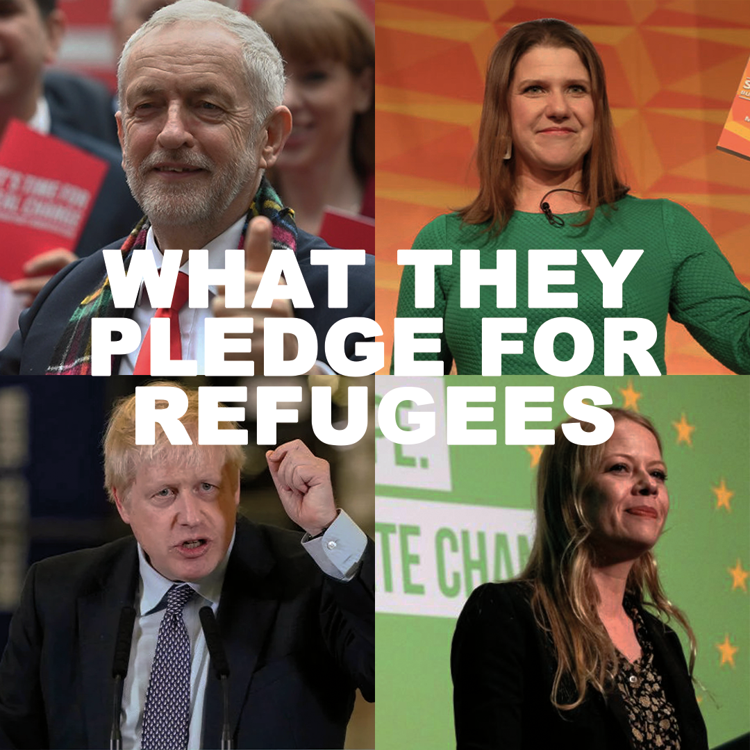 What You Need To Know About The Party Pledges for Refugees