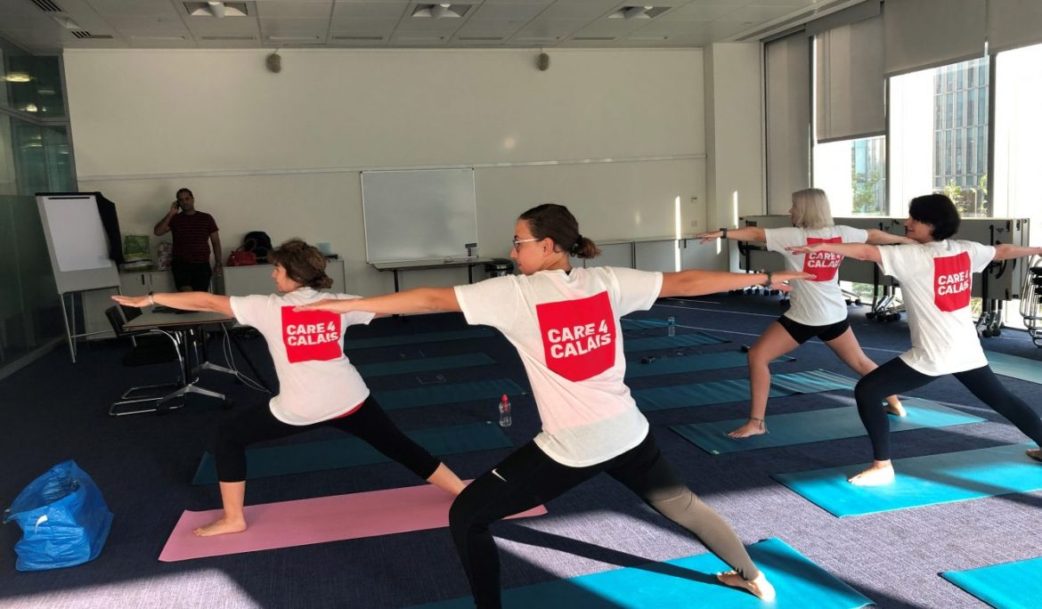 Barclays Staff Stretch Themselves To Raise Funds