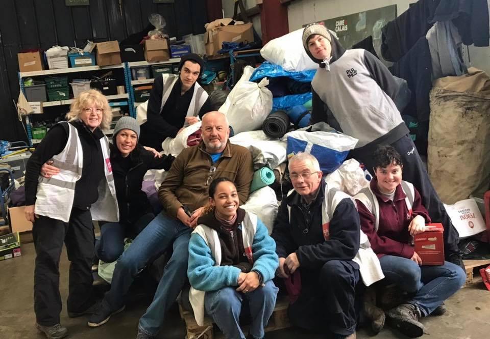 People in Motion donate jam-packed van of winter essentials