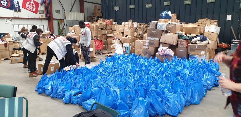 Coronavirus: Volunteers unite to help with donations