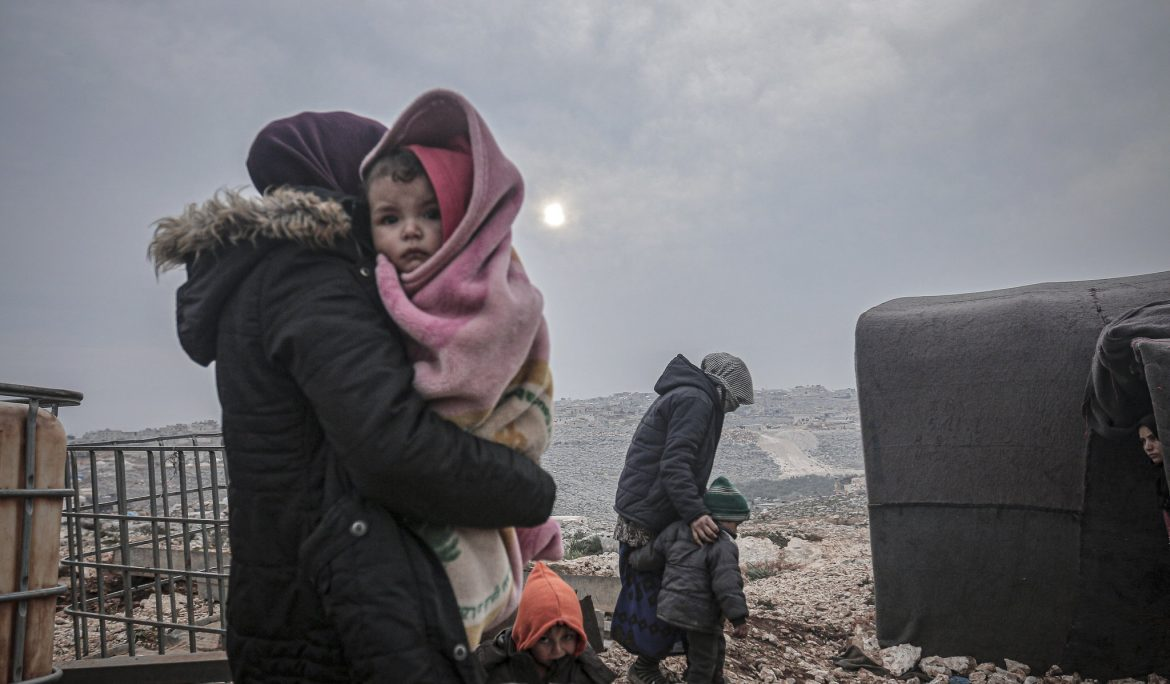 'End of the world': crisis on the Turkish border