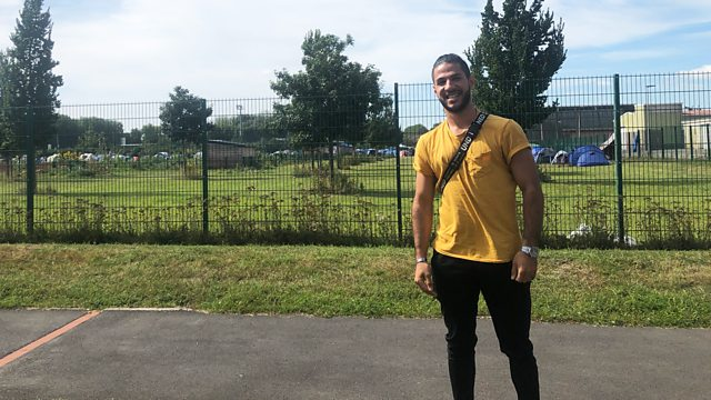 LISTEN: Former refugee returns to Calais with BBC