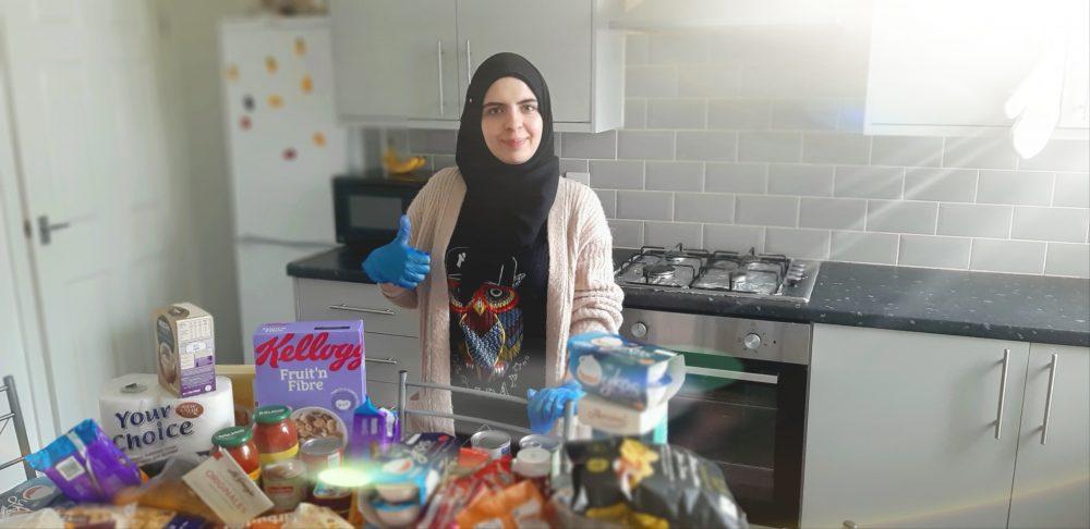 Meet Intesar, Burnley's new volunteering superstar