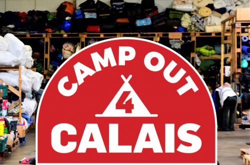 Calling all campers and festival-goers: #CampOut4Calais launched