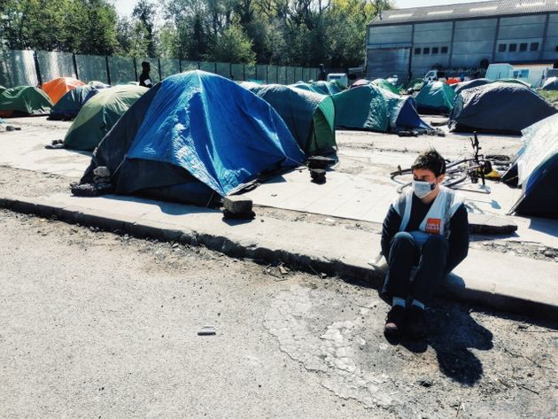 Covid in Calais: 19-year-old volunteer Tia speaks to HuffPost