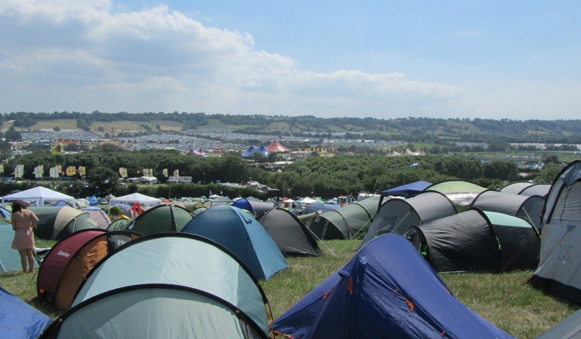 Glastonbury may be cancelled, but tents are still vital