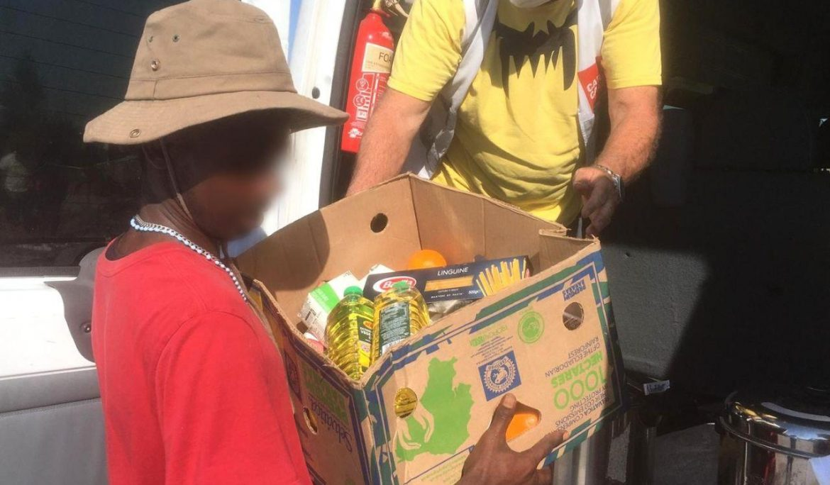 Food distributions ongoing despite France ban