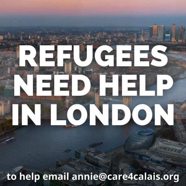 More volunteers urgently needed in London