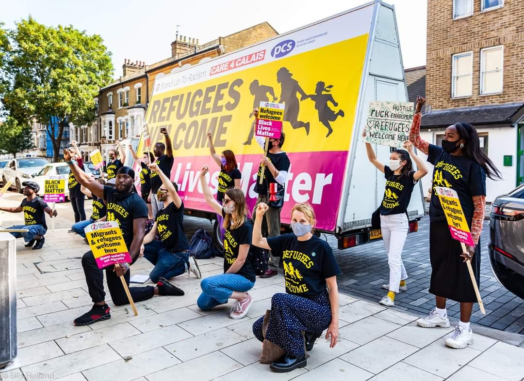 UK unites to show that refugees are welcome