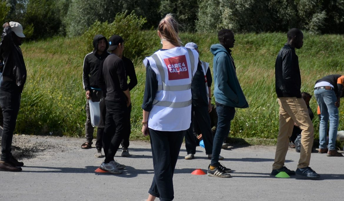 Smiles abound as 200 refugees given brand new joggers