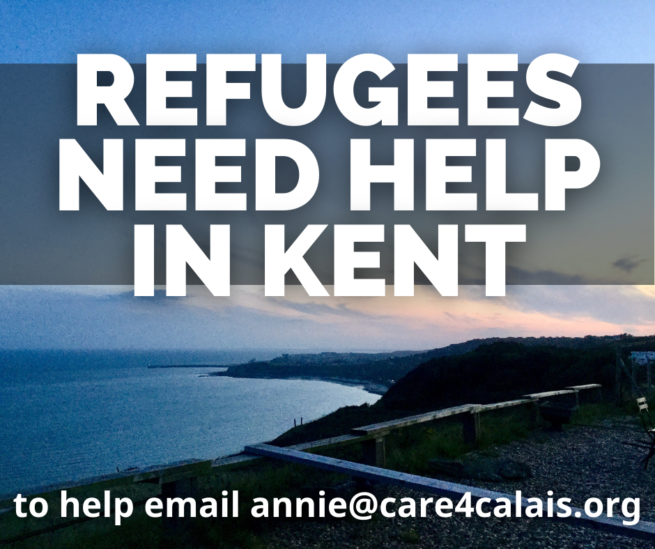 Refugees need your help in Kent