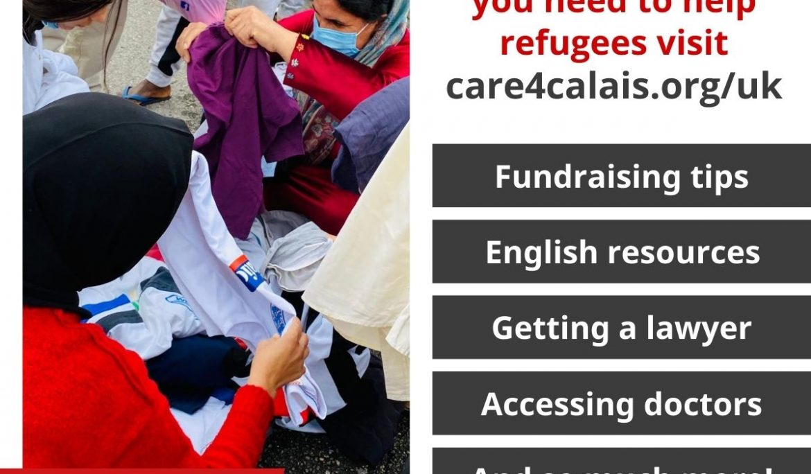 Care4Calais launch new UK resources website