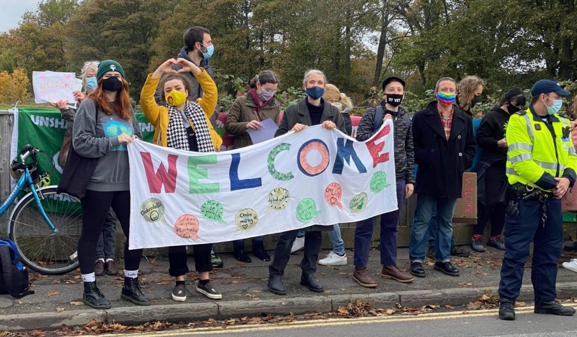 A warm welcome for refugees in Folkestone