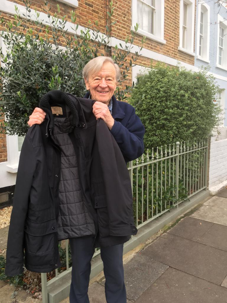 Lord Dubs joins #Coats4Calais campaign
