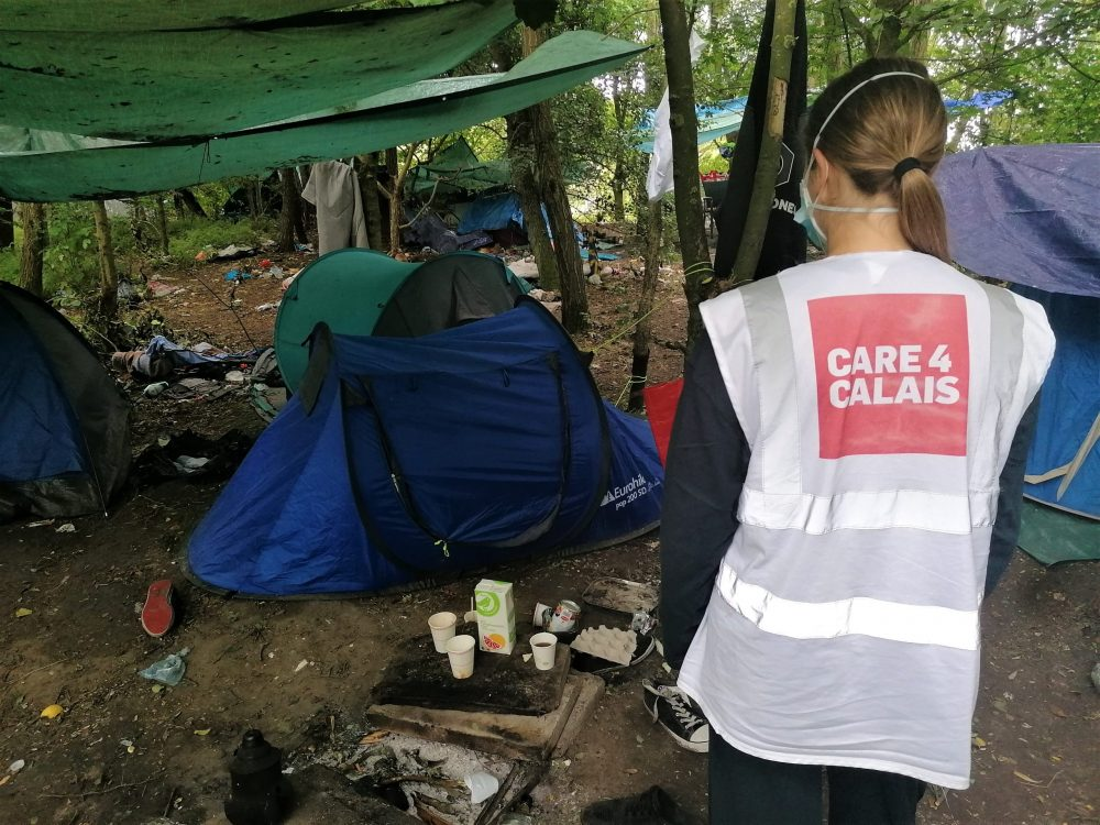 Calais is in lockdown, but refugees can't stay home