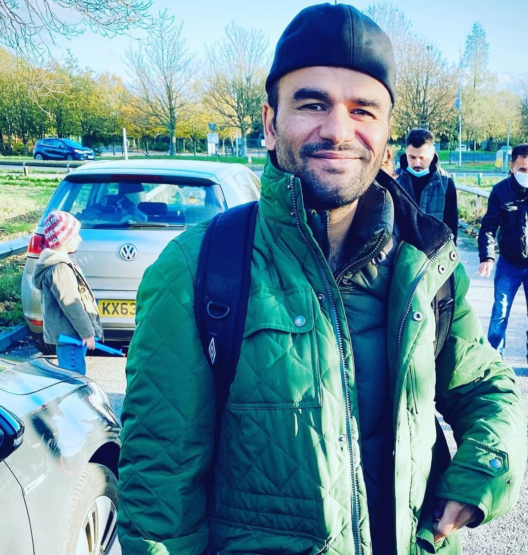 Meet the refugee who gave up his winter coat