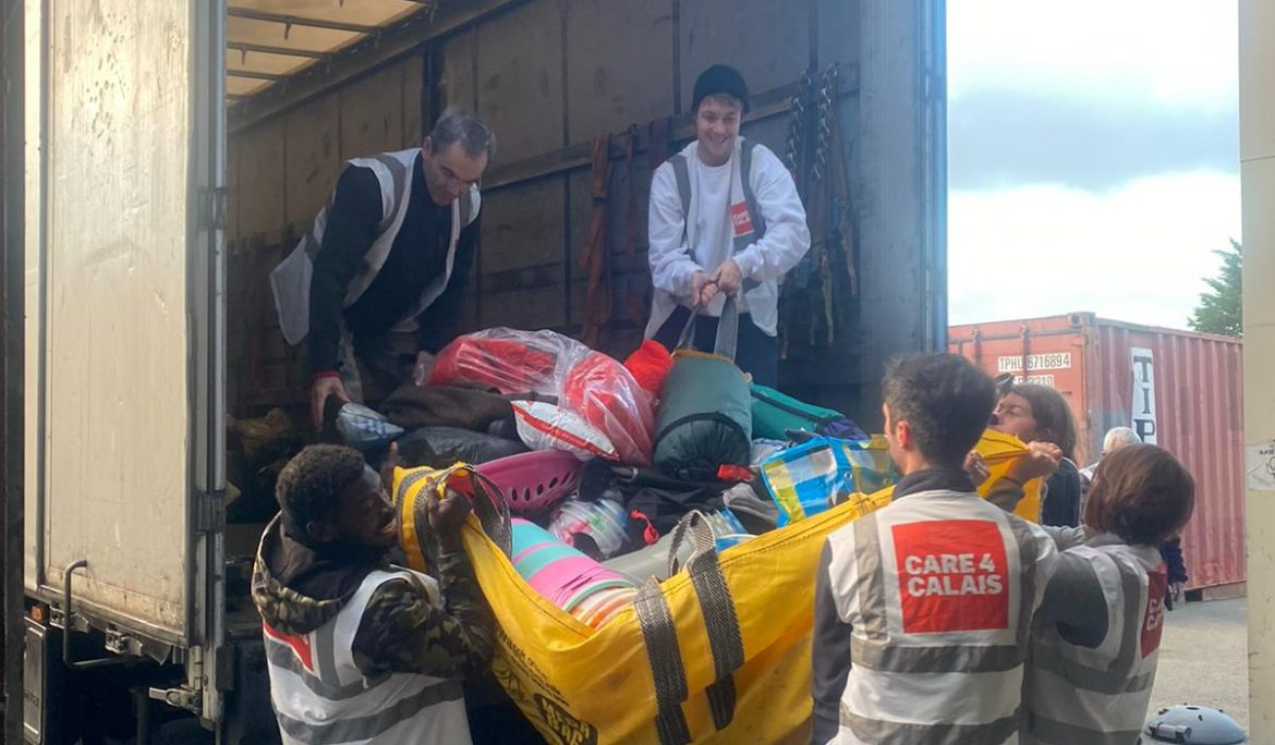 Set designer organises huge donation of clothes and bedding