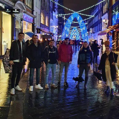 A magical tour of London Christmas lights