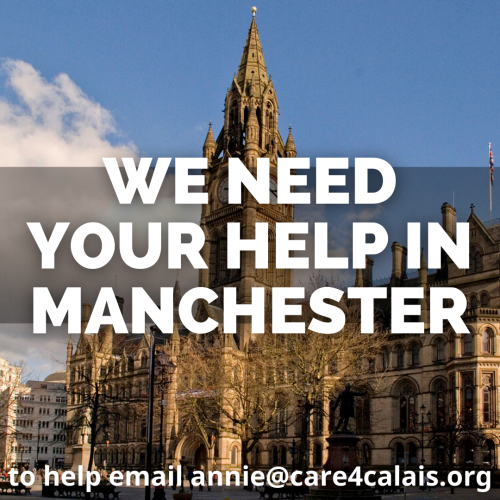 Passionate volunteers needed in Manchester