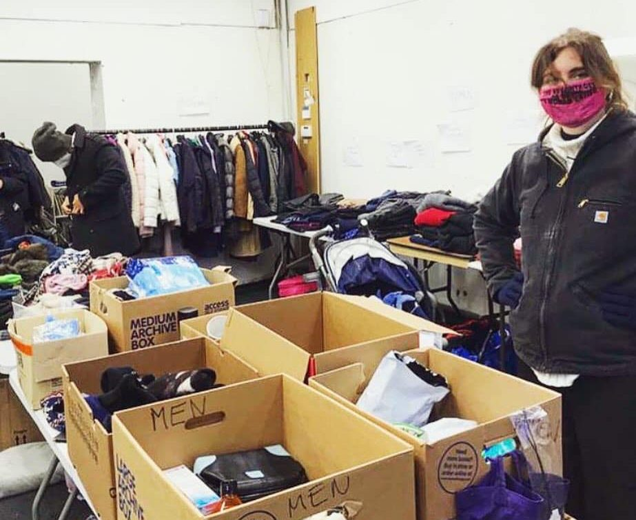 Care4Calais and West London Welcome launch 'The Shop' clothes bank for asylum seekers
