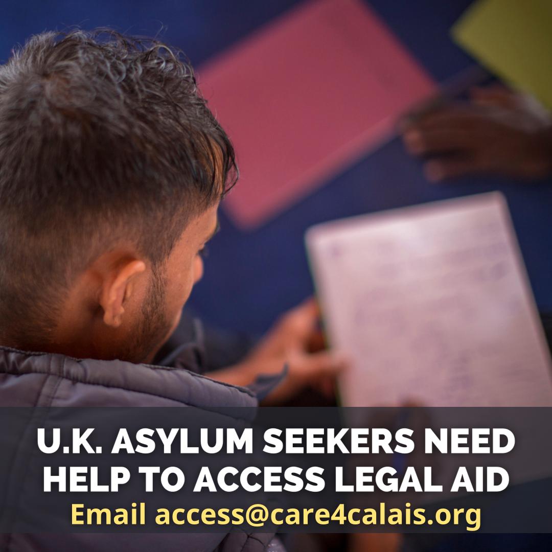 Volunteers needed to help U.K. asylum seekers access legal aid