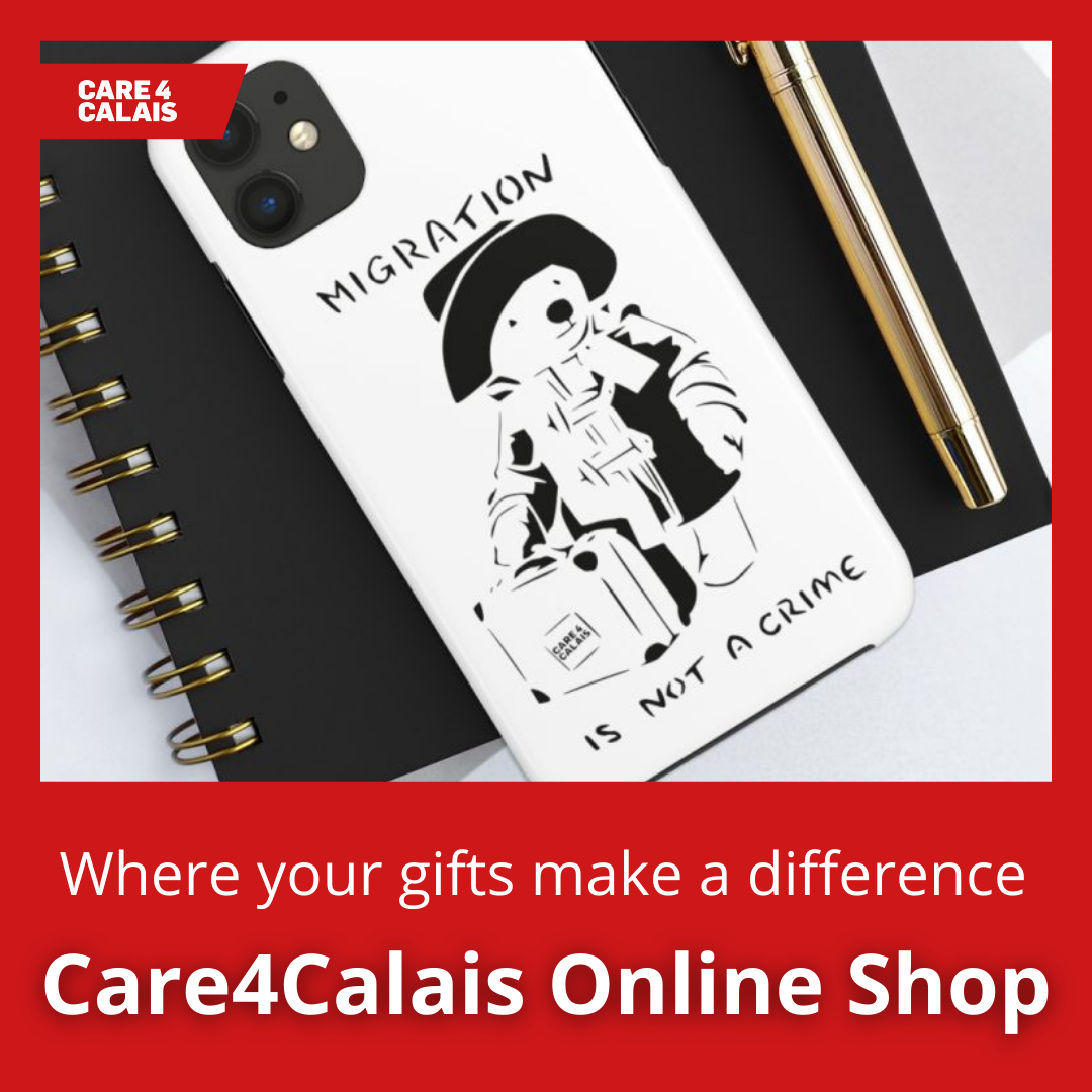 Give ethical gifts by visiting the Care4Calais Online Shop