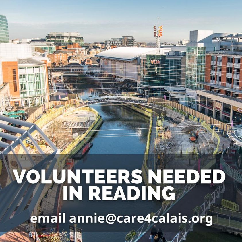 Volunteers needed in Reading!
